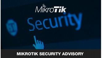 MikroTik Security Advisory