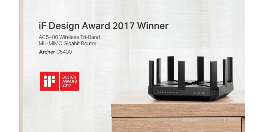 TP-Link Wins Two Prestigious 2017 iF Design Awards