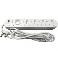 10-Way Multi Plug (5x16A and 5x5A) - 3m Power Cord