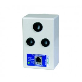 ClearLine Single Power Plug and Data (RJ11) Surge Protector