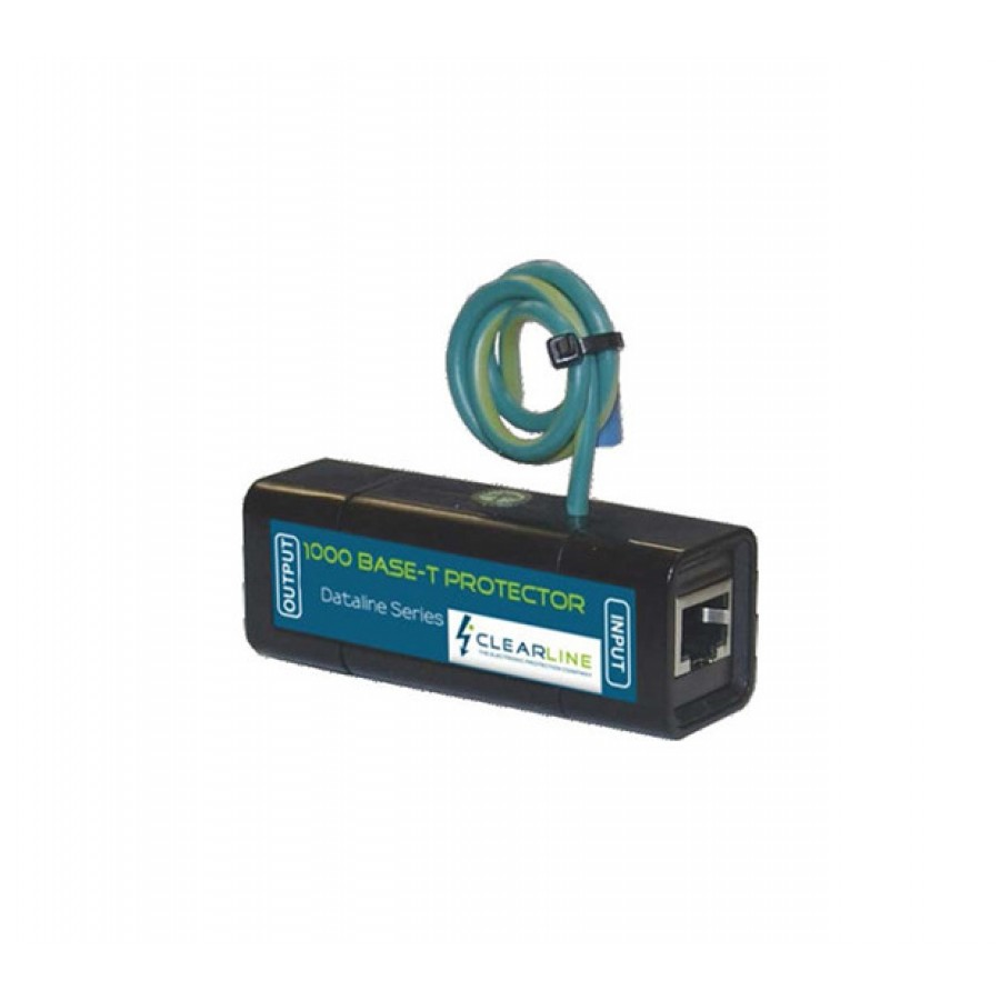 Clearline Gigabit Inline Surge Protector With Poe Pass