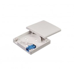 2 Cores FTTH Fiber Termination Box (for 2x SC Adapter)