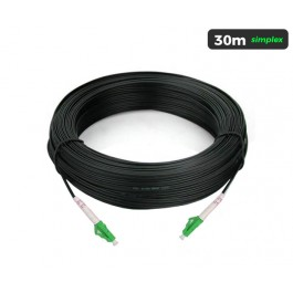 UltraLAN Pre-Terminated Drop Cable (LC/APC) Simplex - 30m