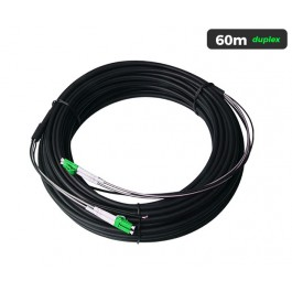 UltraLAN Pre-Terminated Drop Cable (LC/APC) Duplex - 60m