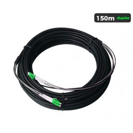 UltraLAN Pre-Terminated Drop Cable (LC/APC) Duplex - 150m