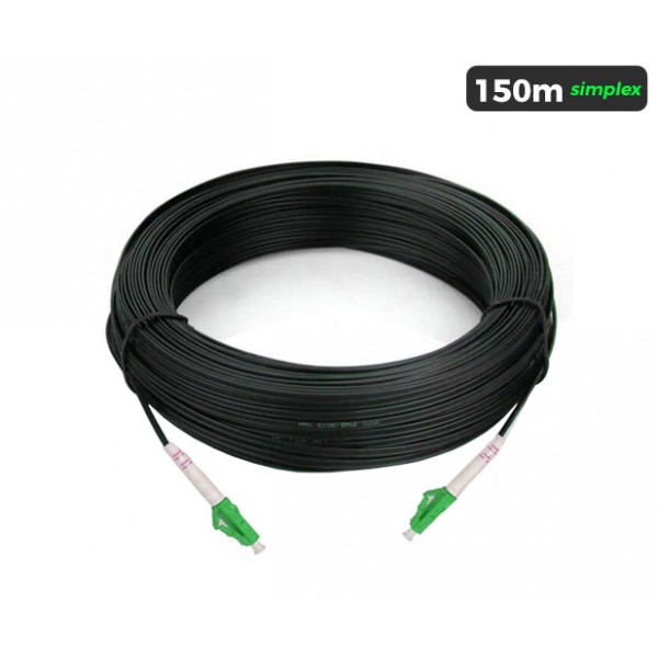 UltraLAN Pre-Terminated Drop Cable (LC/APC) Simplex - 150m