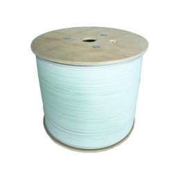 UltraLAN Fiber Bow Type Drop Cable (White) - 2 Core