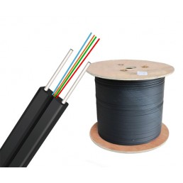 UltraLAN Fiber Bow Type Drop Cable (Black) - 4 Core