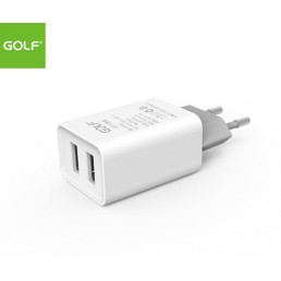GOLF Wall Charger - Dual USB Output 2.1A