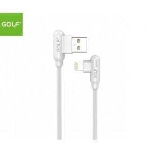 GOLF 1meter Apple/Lightning (90degree) Cable - White