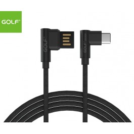 GOLF 1meter Type-C (90degree) Cable - Black