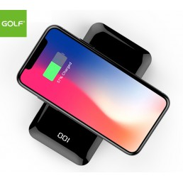 GOLF Qi Wireless Charging Powerbank (8000mAh)