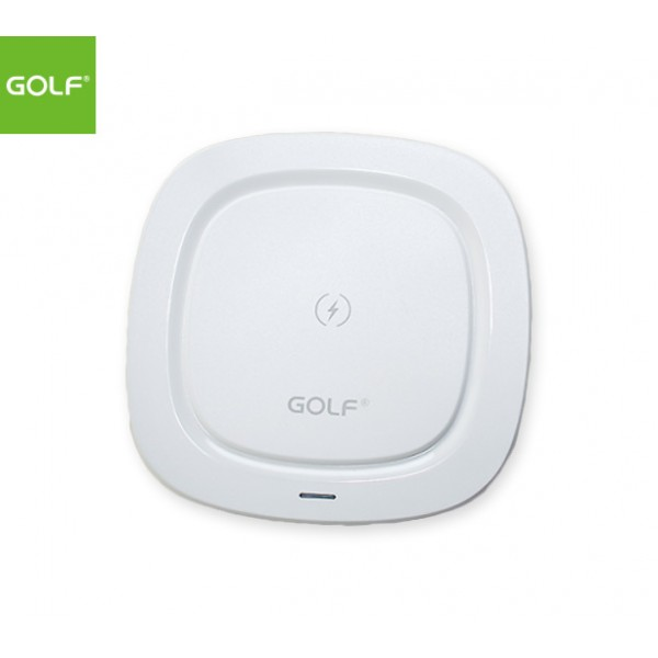 GOLF Qi Wireless Fast Charging Pad - WQ5 PRO (White)