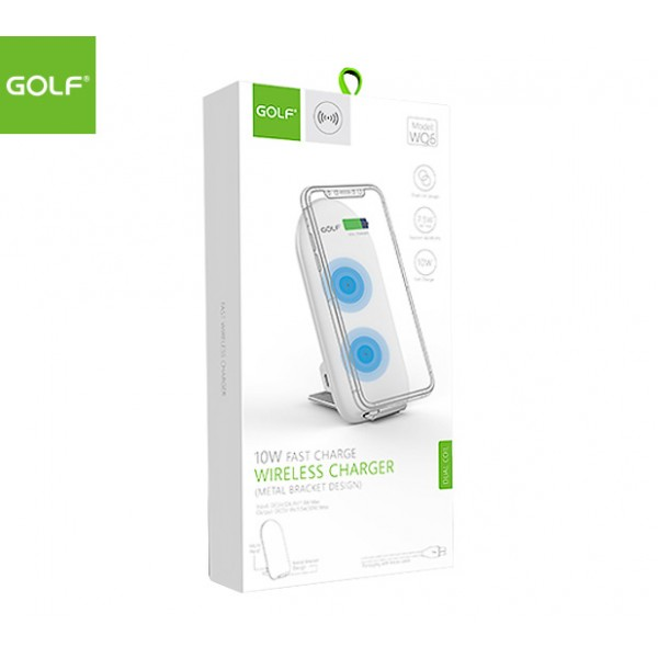 GOLF Qi Wireless Charging Stand (White)
