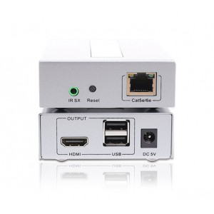 HDMI and USB KVM Extender (100m) with IR