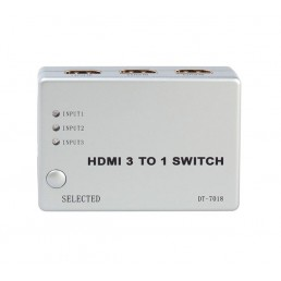 HDMI 3way Intelligent Source Switch with Remote
