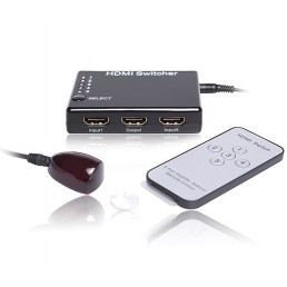 HDMI 5-way Intelligent Source Switch with Remote