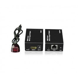 HDMI Cat5/6 Extender with InfraRed (60m - 1080p)