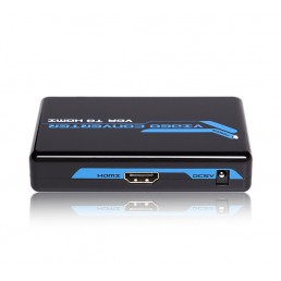 VGA & Stereo Audio to HDMI Converter