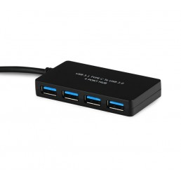 USB Type-C to 4 Port USB 3.0 Hub
