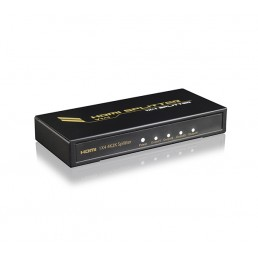 HDMI 4-way Splitter (HD/4K)