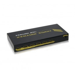 HDMI 4x2 Matrix Switch & Splitter with 3D Support