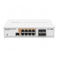 MikroTik 8port PoE Smart Switch (RBCRS112-8P-4S-IN)