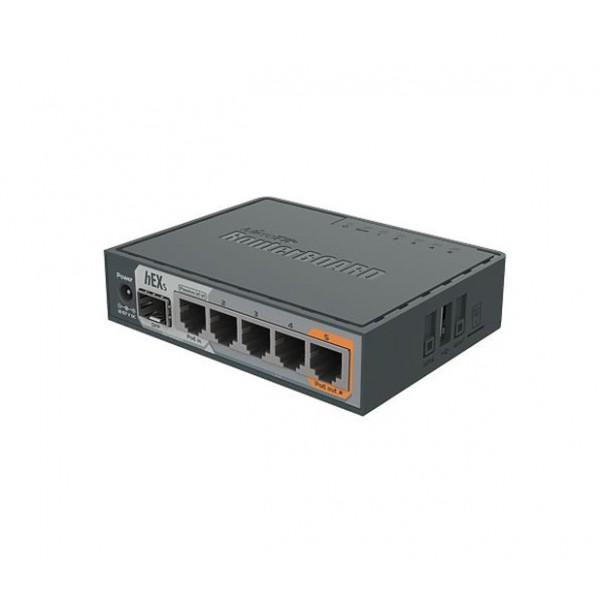 MikroTik hEX S  (RB760IGS)