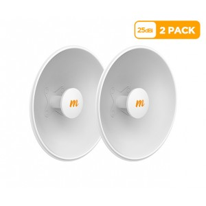 Mimosa N5-X25 twist-on 5GHz 25dBi antenna 430mm (2 Pack)