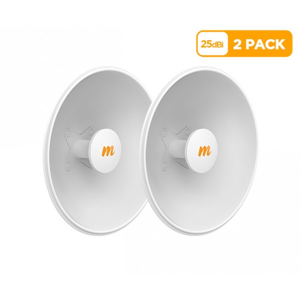 Mimosa N5-X25 twist-on 5GHz 25dBi antenna 430mm (2 Pack)