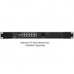 Netonix 12port PoE switch - 400W Total Power (WS-12-400-AC)
