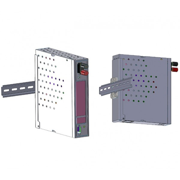 Netonix DIN Rail Kit (for WS-8 and WS-12 models)