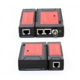 Noyafa Cable Tester for UTP/STP/Coaxial cable (RJ11/RJ45/BNC)