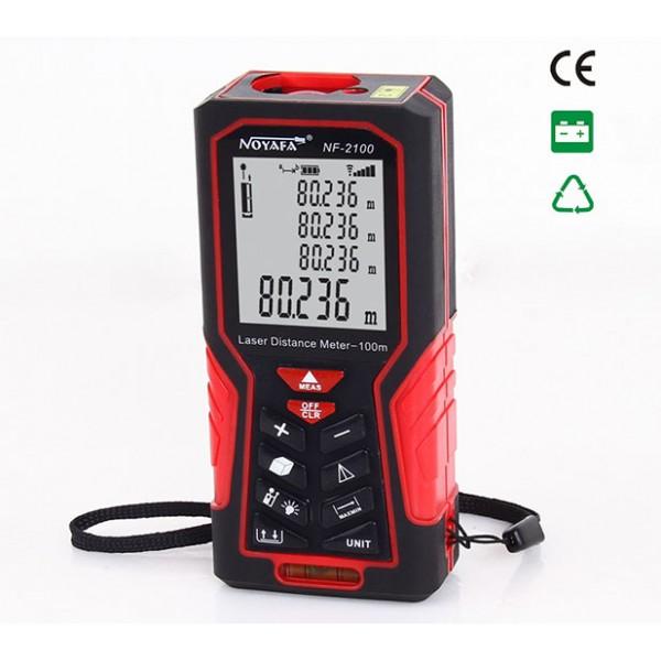 Noyafa Laser Distance Meter (100meter)