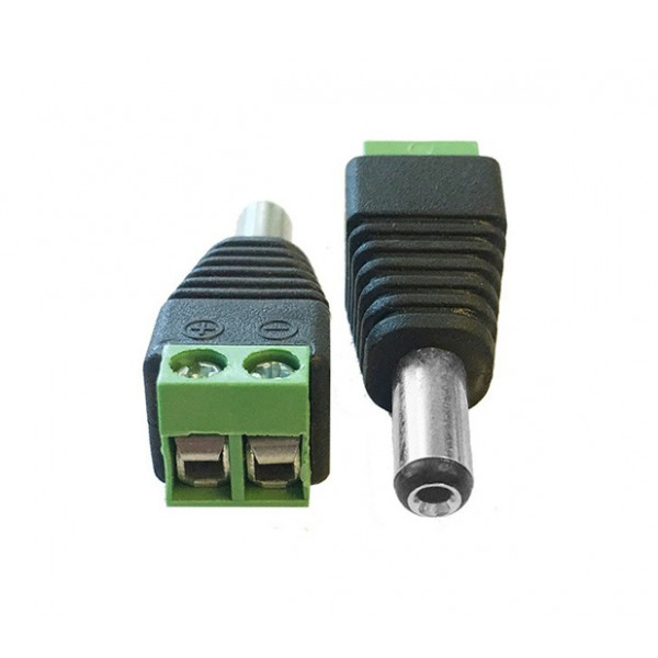 DC Terminal to 2.1mm Jack Adapter
