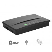 Micro UPS (DC-to-DC 30W) with Solar Input