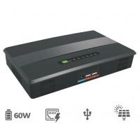 Micro UPS (60W) with PoE Output & Solar Input