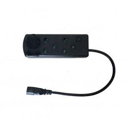 Multi Plug with IEC Cord (2x16A + 2x5A)