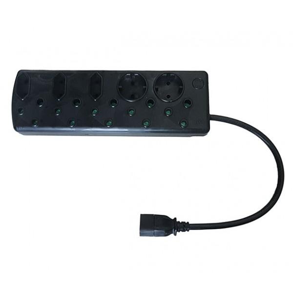 Multi Plug with IEC Cord (5x16A + 5x5A)