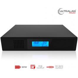 UltraLAN Micro UPS (DC & PoE) - 60W 17.6AH