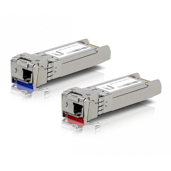 Ubiquiti 10Gbps Single Mode (LC) SFP+ Module Pair