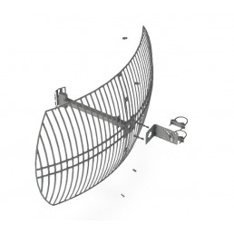 24dBi 2.4GHz Grid Antenna