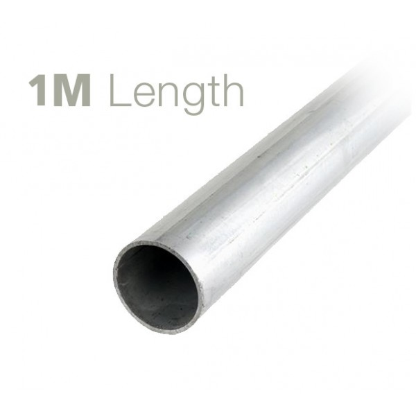 1m Galvanised Mild Steel Mast (50mm)