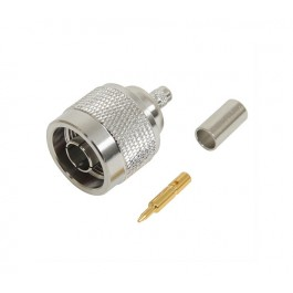 N-Type Male LMR195 Crimp Connector