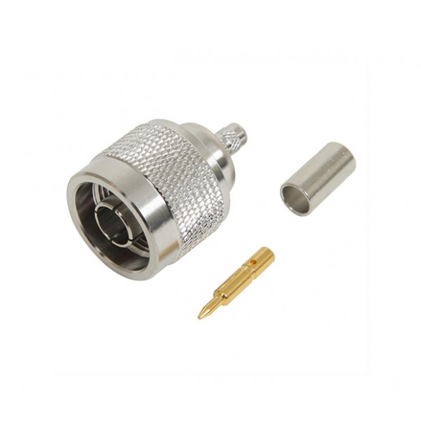 N-Type Male LMR195 Crimp Connector