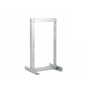 Square Wall Bracket - 400mm Off Set