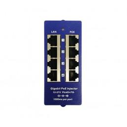 4-Port Gigabit Passive PoE Injector