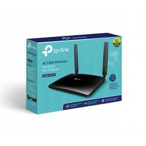 TP-LINK AC1350 Wireless Dual Band 4G LTE Router (TL-MR400)