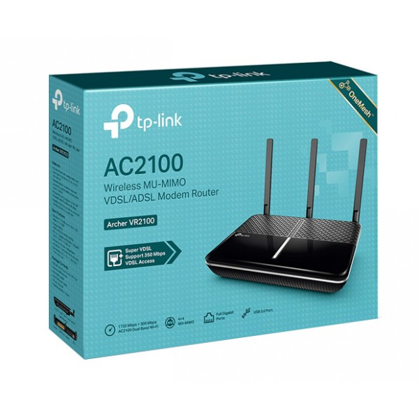 TP-LINK Archer VR2100 AC2100 Wireless VDSL Router