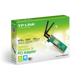 TP-LINK WN851ND Wireless-N PCI Card
